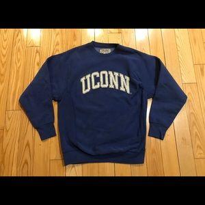 UConn Spellout College sweater medium